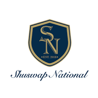 Logo of shuswap national golf course