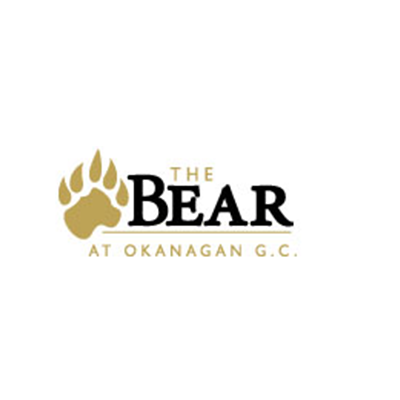 Logo for the Bear at Okanagan Golf Club