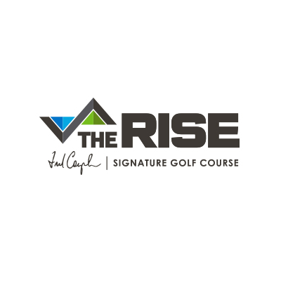Logo of the Rise Signature golf course located in Vernon BC