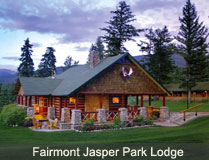 Fairmont Jasper Park Lodge luxury mountain resort in jasper national park cabin