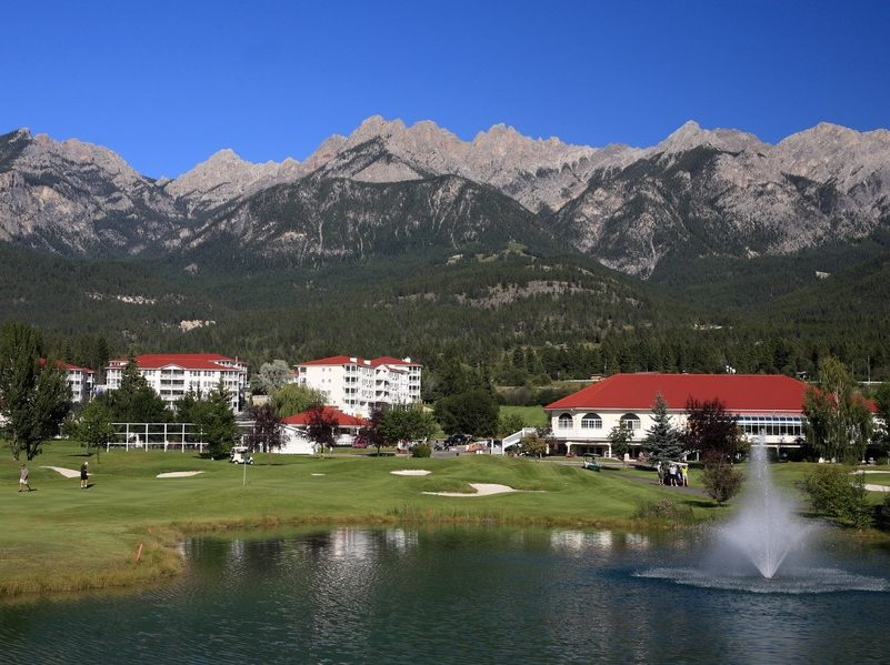 Golf vacation packages at Fairmont Hot Springs