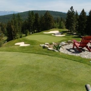 Tricky Holes at Trickle Creek Golf Resort