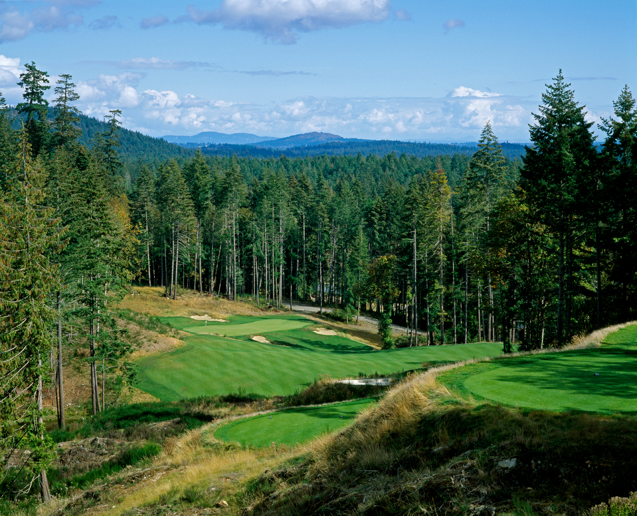 Golf canada victoria golf courses valley course bear for Adagio salon golden valley