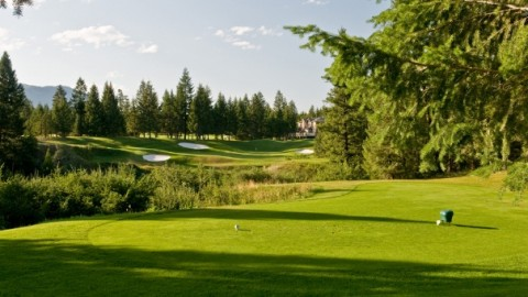 Challenging Holes at Radium Resort Course