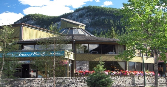 Inns of Banff stay in banff national park