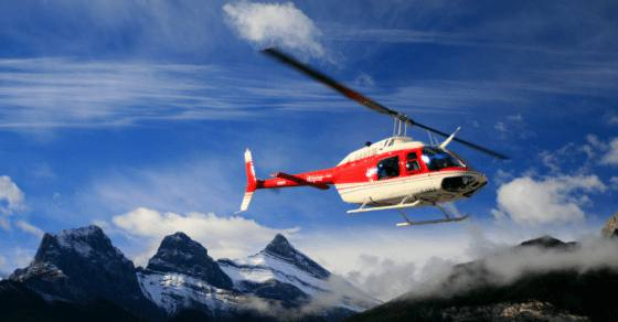 Canadian Rockies Heritage Tour - alpine helicopters
