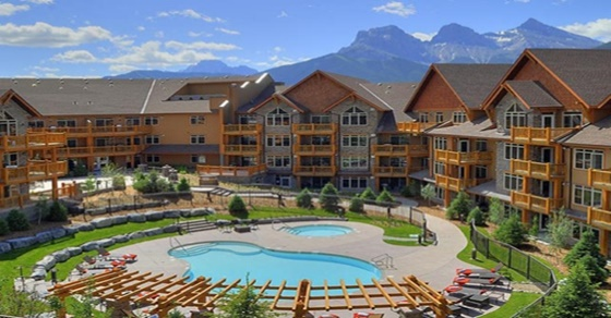 Stoneridge-Mountain-Resort-Canmore. Luxury all suite accommodations in the canadian rockies