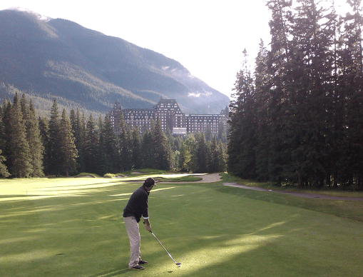 Fairmont Banff Springs Golf Course, golf canada