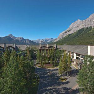 Delta Lodge at Kananaskis in the Canadian Rockies