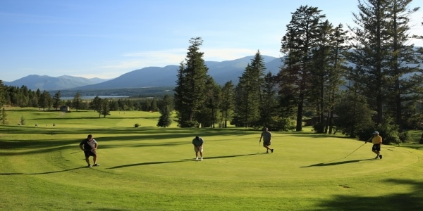 Fairmont Hot Springs - Mountainside golf course