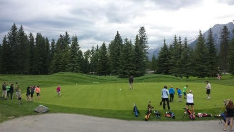 Growing up a Junior golfer in the Canadian Rockies