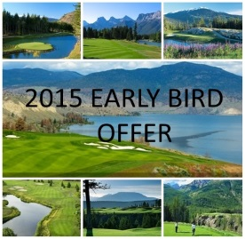 2015 Early Bird Offer