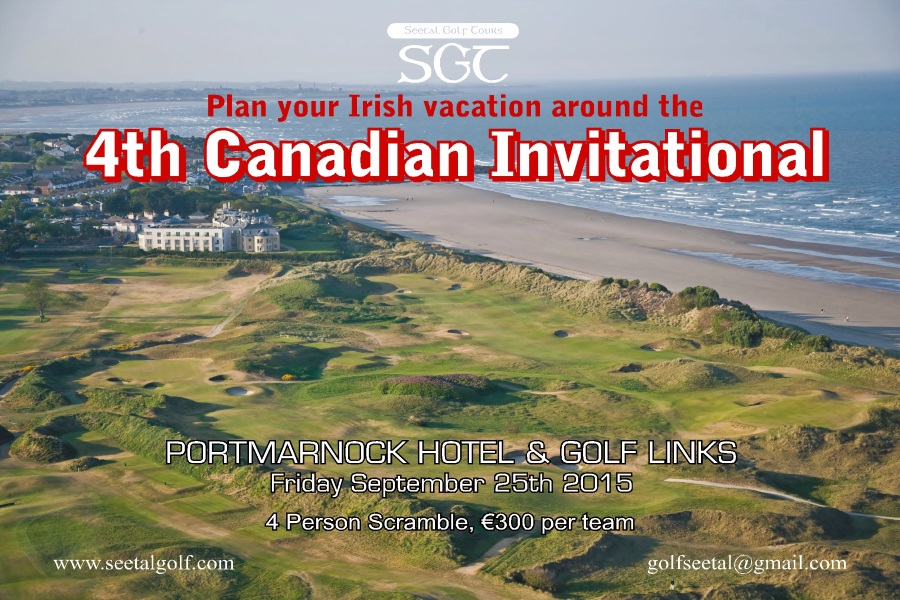 Canadian Invitational -2- Seetal Golf Tours - GolfCanadasWestcom