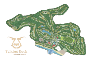 Talking Rock golf course map