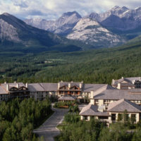 Photo of the Delta Lodge at Kananaskis.