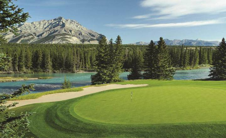 golf banff vacation, alberta golf package