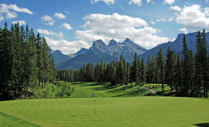 golf silvertip, alberta golf vacation, golf package