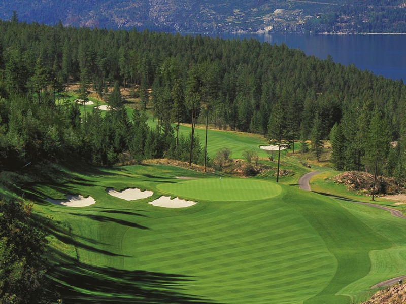 Golf Canada while staying at Predator Ridge Resort