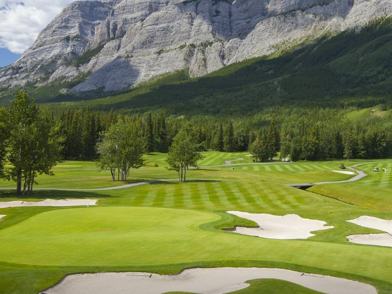 golf kananaskis alberta