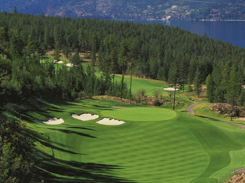 golf predator ridge golf resort, bc vacation