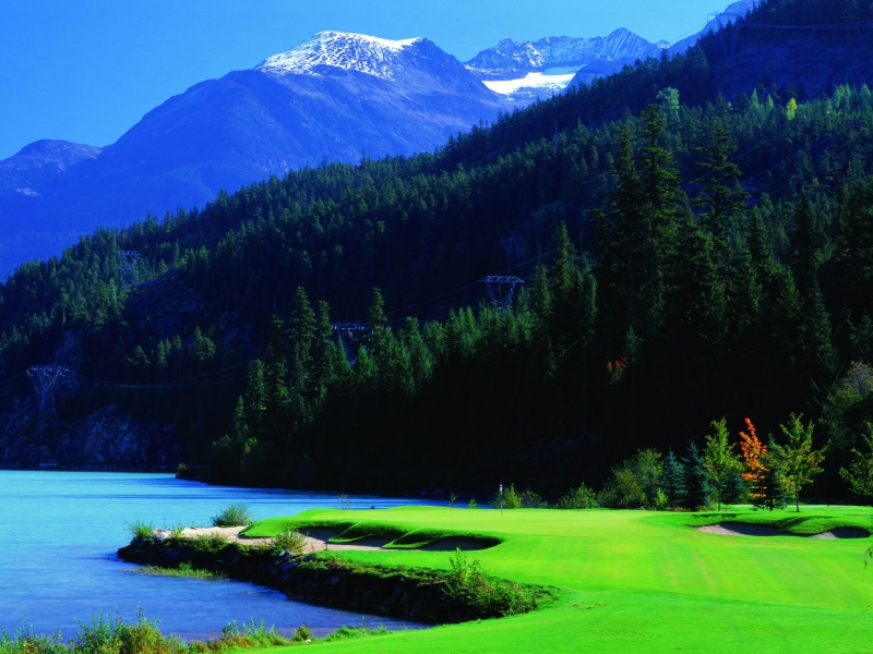 whistler, bc golf vacations