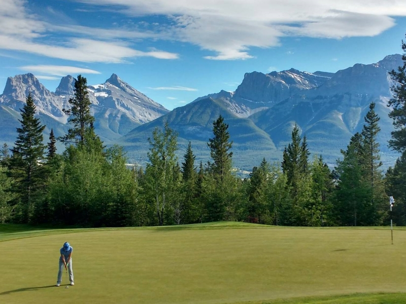canadian rockies golf vacation