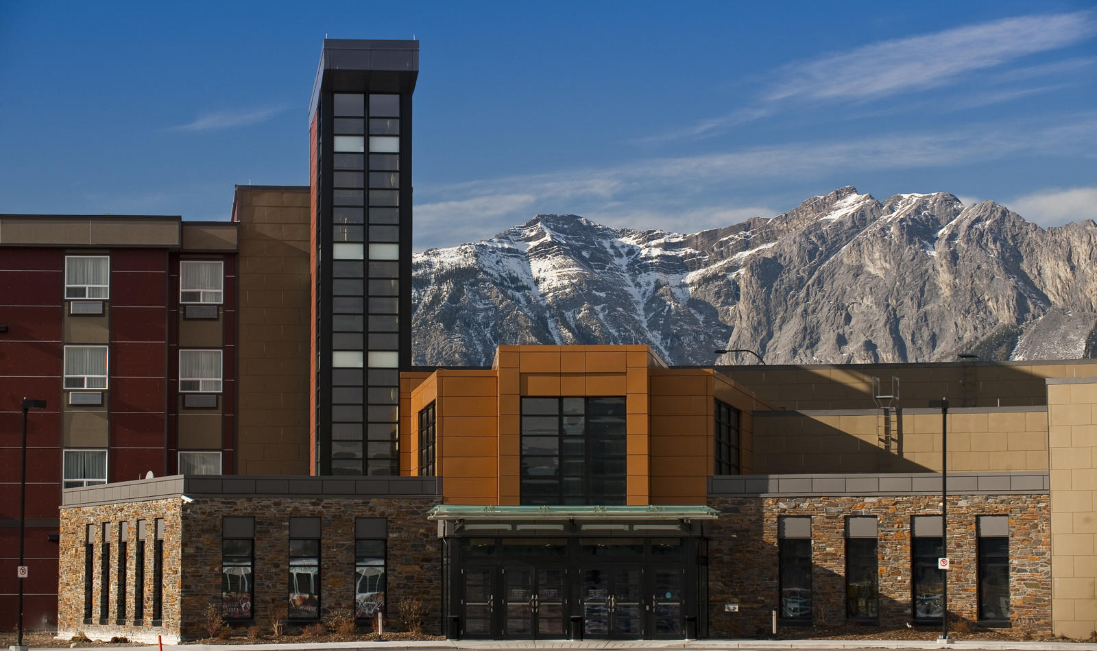 Exterior view of Stoney Nakoda Resort & Casino