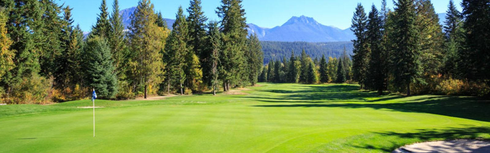 golf bc, canadian golf vacations in golden, bc