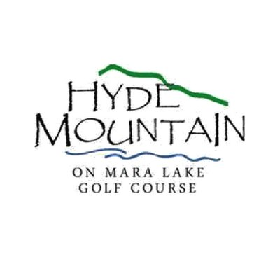 Logo of hyde mountian on mara lake golf course