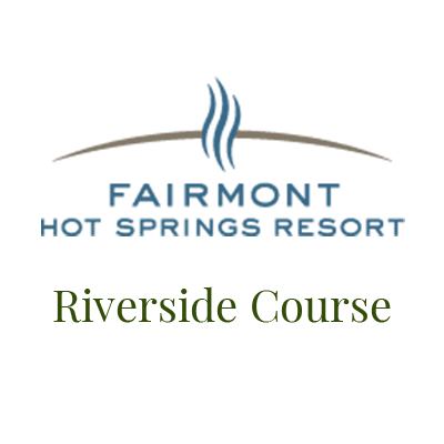 Logo for Fairmont Hot Springs Resort Riverside Golf Course