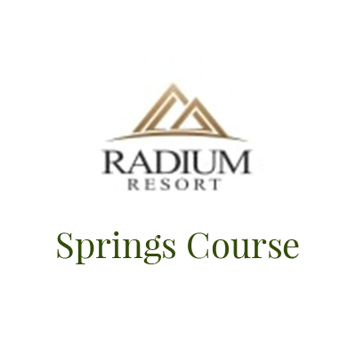Logo of the Radium Resort Springs Course