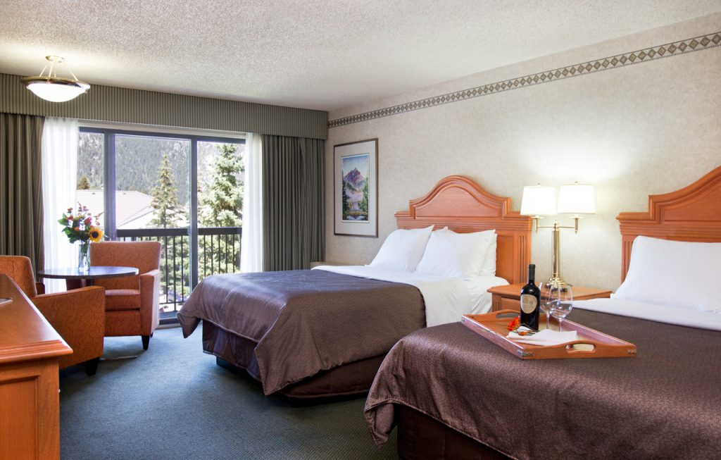 Superior Double Room at Banff Park Lodge