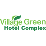 Village Green Hotel Complex Square Logo