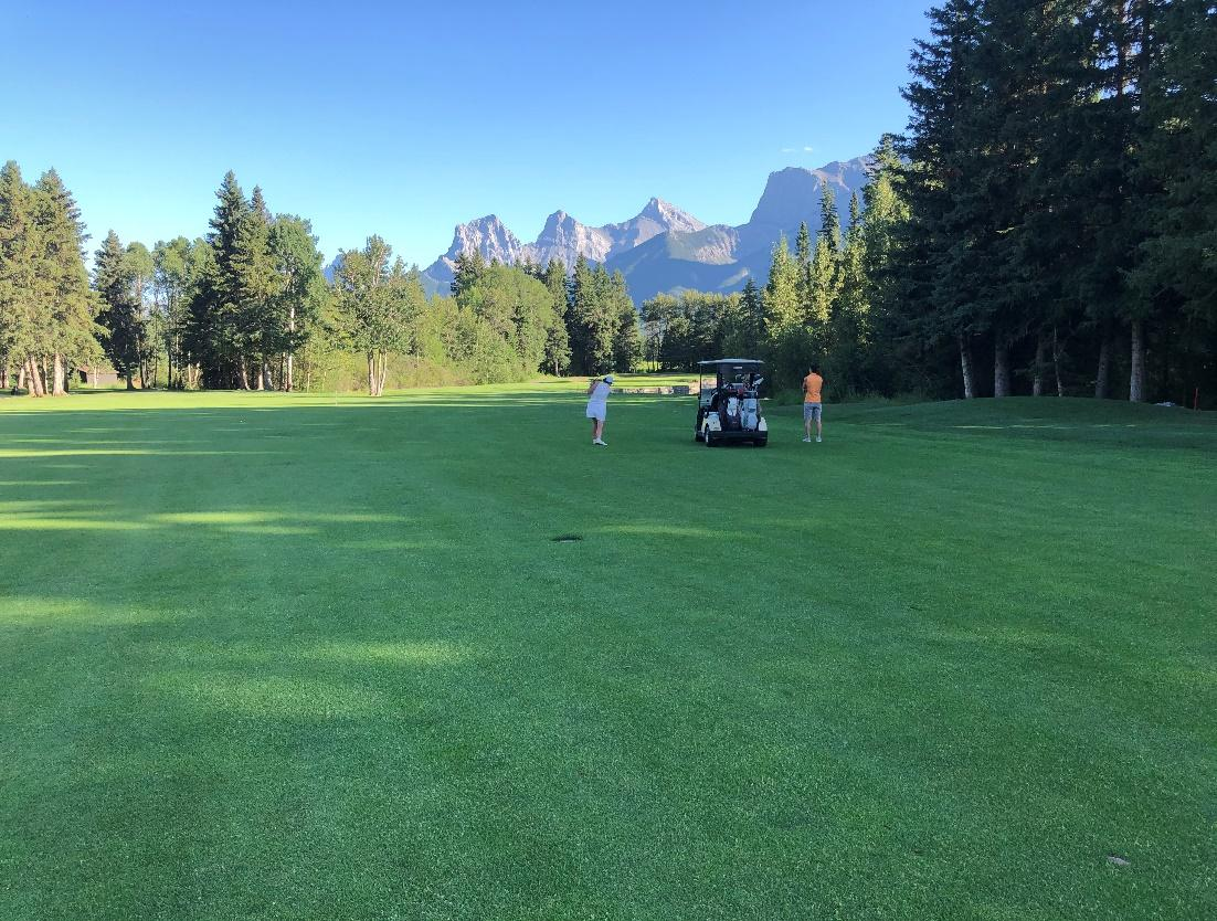 Course at Canmore Golf and Curling Club
