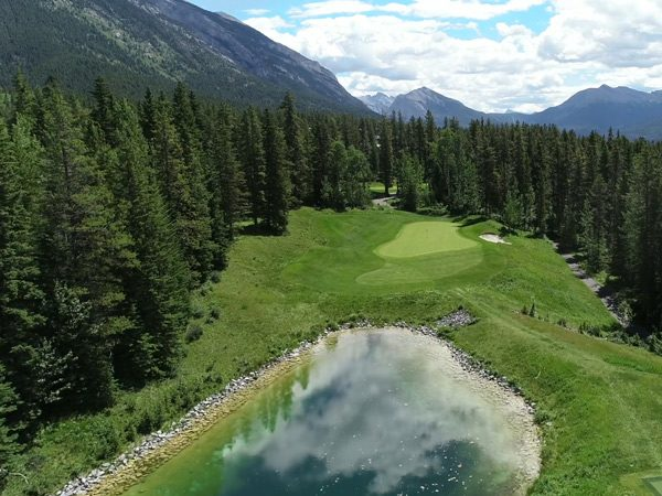 Golfing in BC at Furry Creek